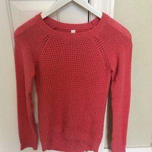 Pink Aeropostale sweater